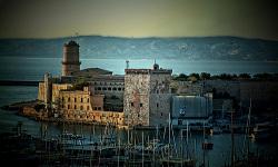 Fuerte de St. Jean en Marsella