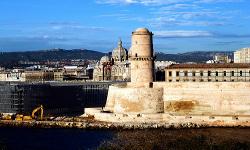 Marsella desde el Palacio del Pharo